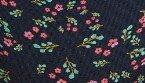 Μπλε με λουλούδια