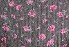 Γκρι με ροζ λουλούδια