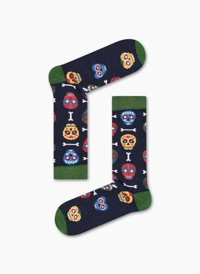 Γυναικείες κάλτσες με σχέδιο Calaveras