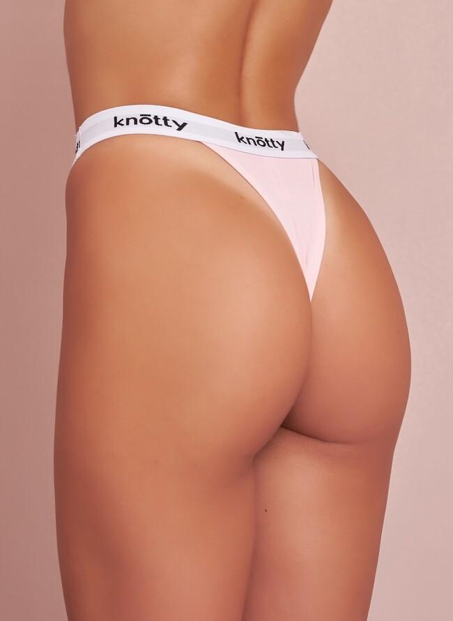 Knotty String 5012 με Λευκό Λάστιχο