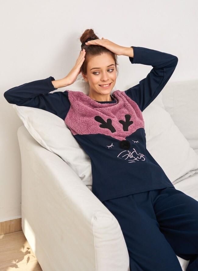 Πιτζάμα Χειμερινή 6527 Girl Style