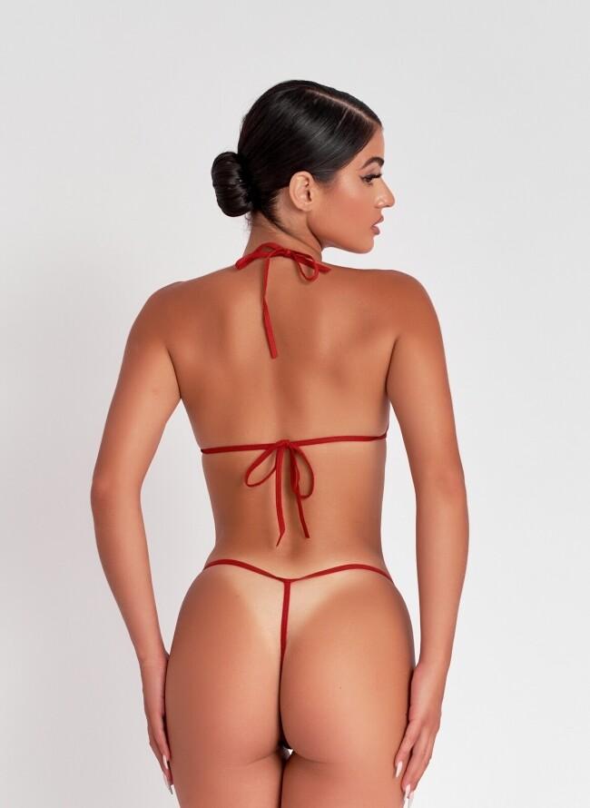 Sexy Σετ Εσωρούχων 092 με κορδόνι