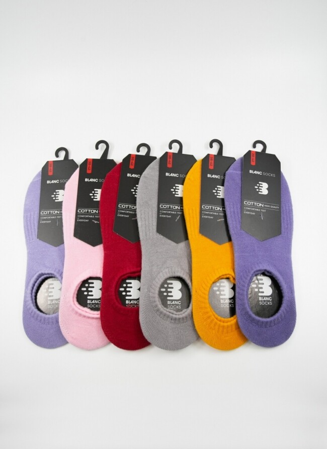 Sneaker σε διάφορα χρώματα Multipack 6 τεμαχίων