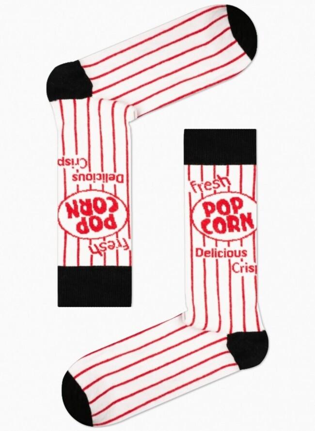 Unisex Κάλτσες Ριγέ Pop Corn