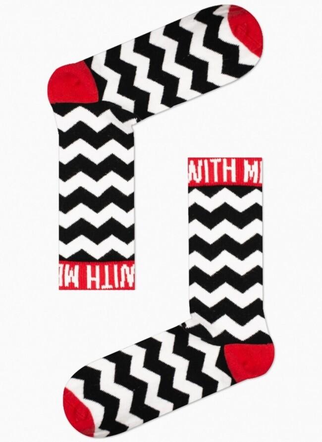 Unisex Κάλτσες Κόκκινες With Me