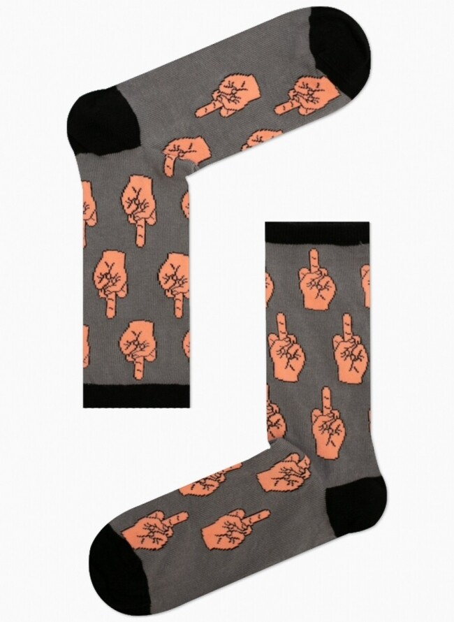 Unisex Κάλτσες Μiddle Finger